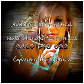 Aussie Blonde Adelaide Escort Lisa!